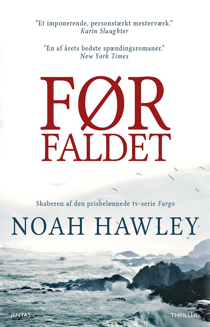 Image of   Før Faldet - Noah Hawley - Cd Lydbog