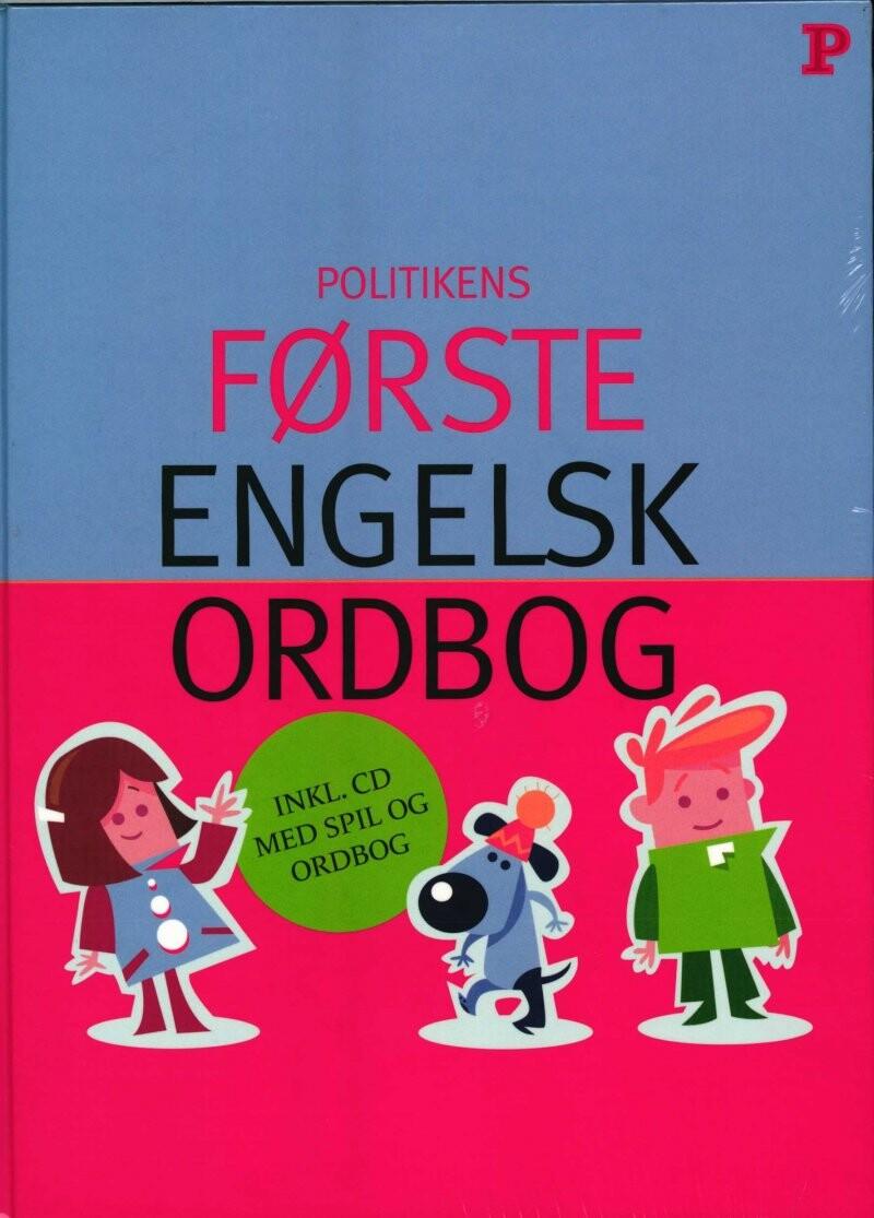 Image of   Første Engelskordbog - Diverse - Bog