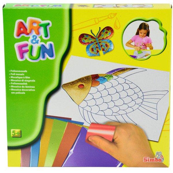 Image of   Mosaik Hobby Sæt Til Børn