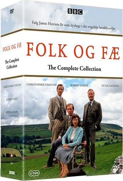 Billede af Folk Og Fæ - Den Komplette Serie Boks - DVD - Tv-serie
