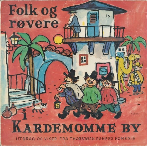 Image of   Folk Og Røvere I Kardemomme By - CD