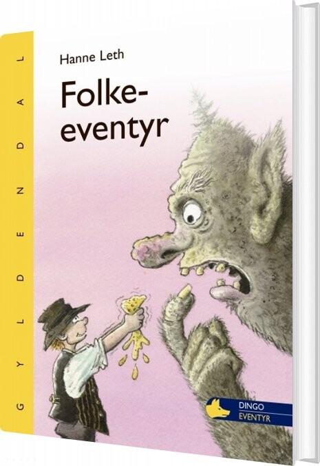 Image of   Folkeeventyr - Hanne Leth - Bog