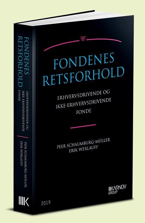 Image of   Fondenes Retsforhold - Erik Werlauff - Bog