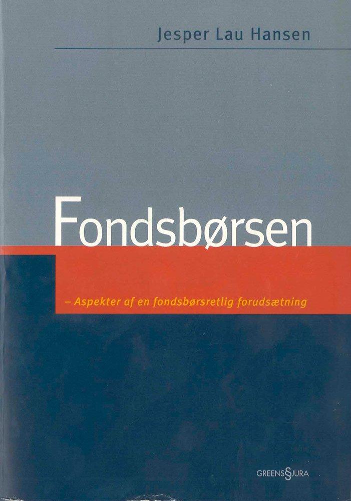 Image of   Fondsbørsen - Hansen J - Bog