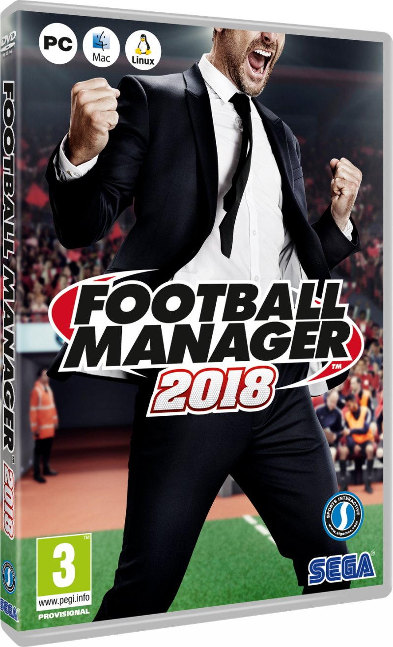 Image of   Football Manager 2018 - PC