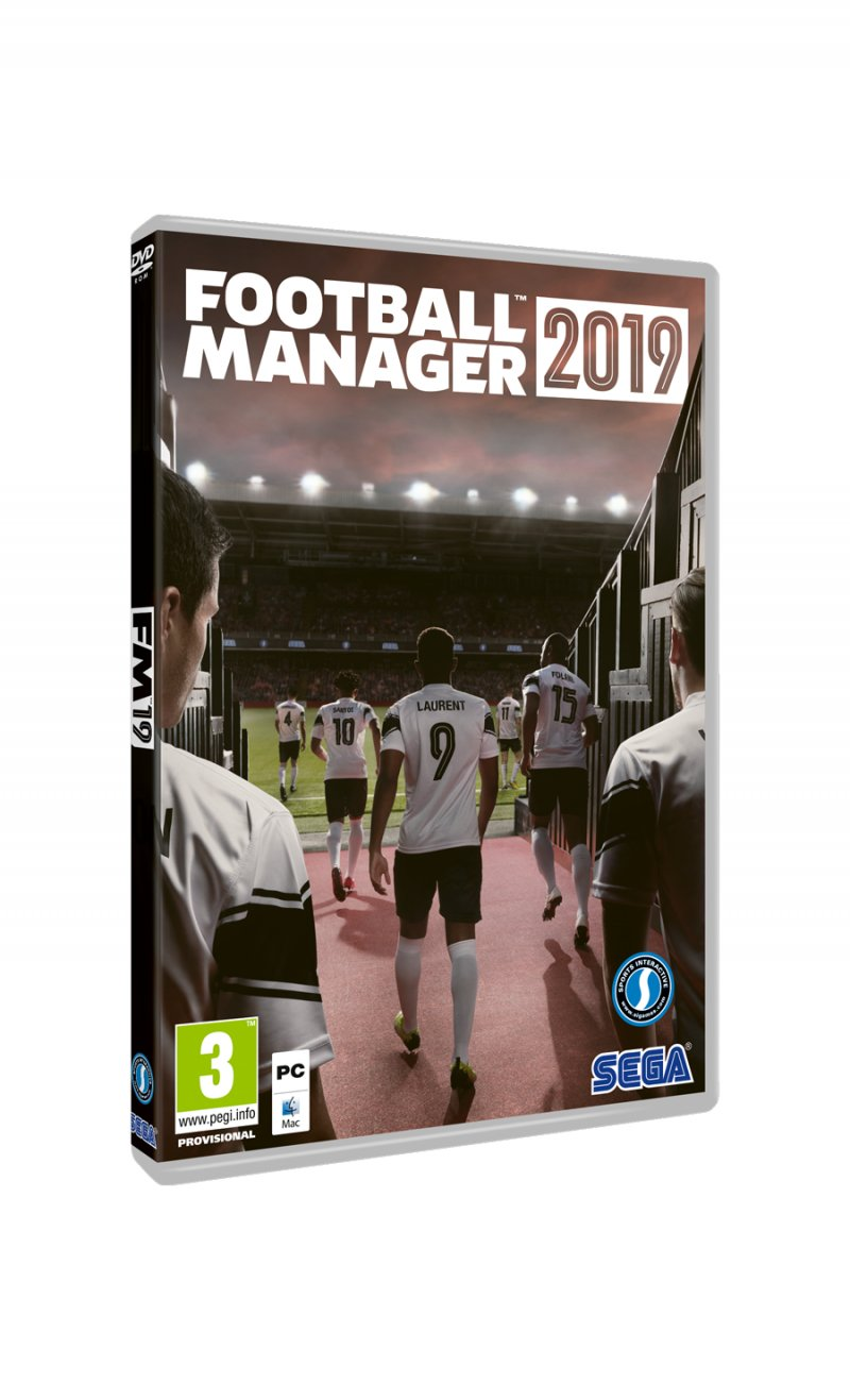 Image of   Football Manager 2019 - PC