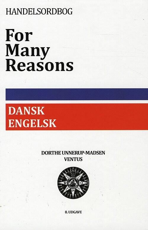 For Many Reasons - Dorthe Unnerup-madsen - Bog