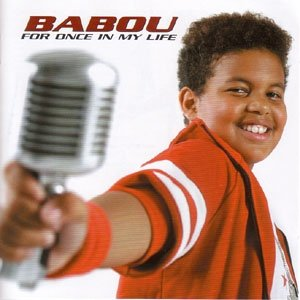 Image of   Babou - For Once In My Life - CD