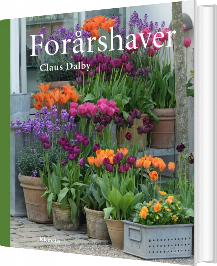 Image of   Forårshaver - Claus Dalby - Bog