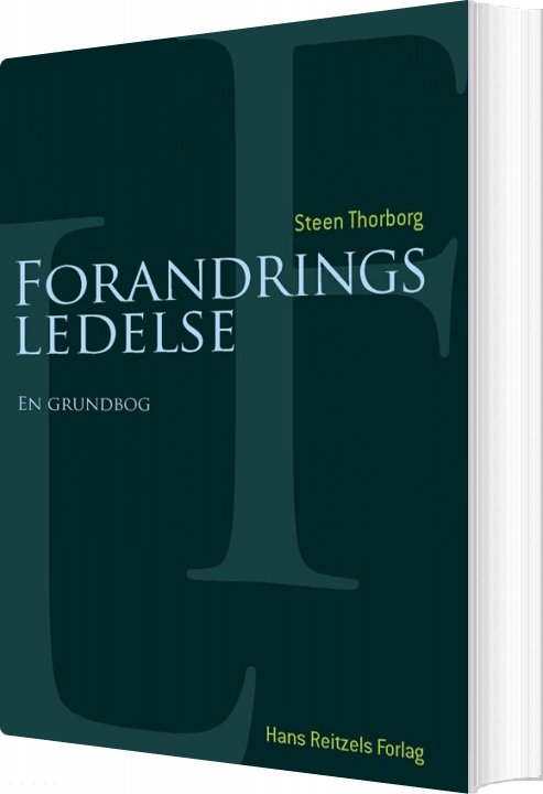 Image of   Forandringsledelse - Steen Thorborg - Bog