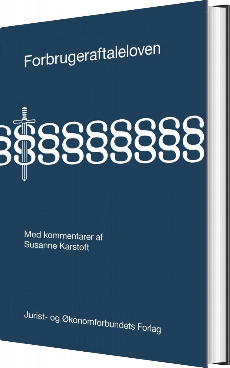 Image of   Forbrugeraftaleloven - Susanne Karstoft - Bog