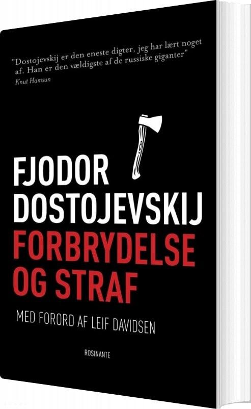 Forbrydelse Og Straf - Fjodor Dostojevskij - Bog