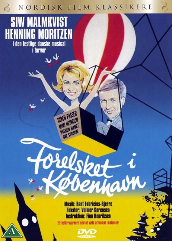 Image of   Forelsket I København - DVD - Film