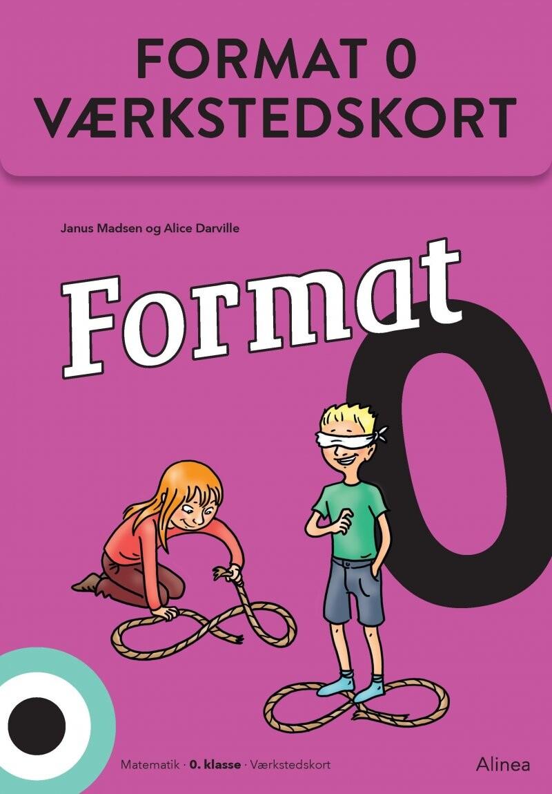 Image of   Format 0, Værkstedskort - Janus Madsen - Bog