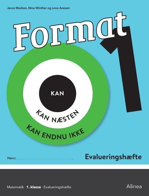 Image of   Format 1, Evalueringshæfte - Janus Madsen - Bog