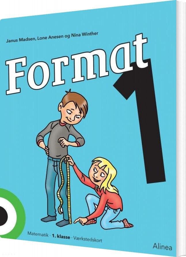 Image of   Format 1, Værkstedskort - Janus Madsen - Bog