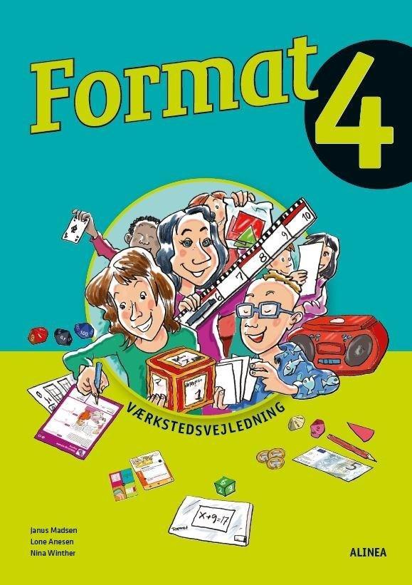 Image of   Format 4, Værkstedsvejledning - Janus Madsen - Bog