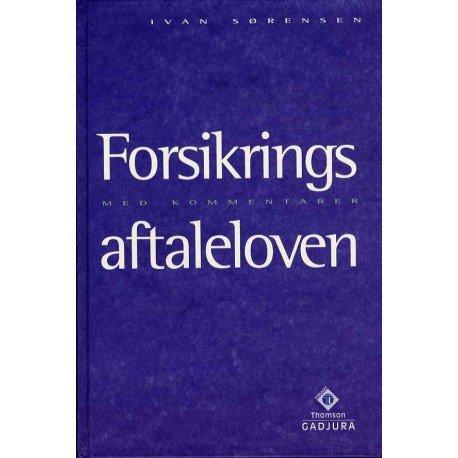 Image of   Forsikringsaftaleloven - Lyngsø P - Bog