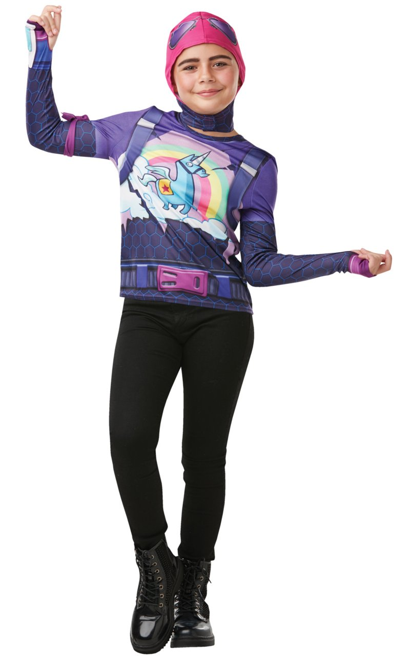 Image of   Fortnite Kostume - Brite Bomber - Str. 9-10 år