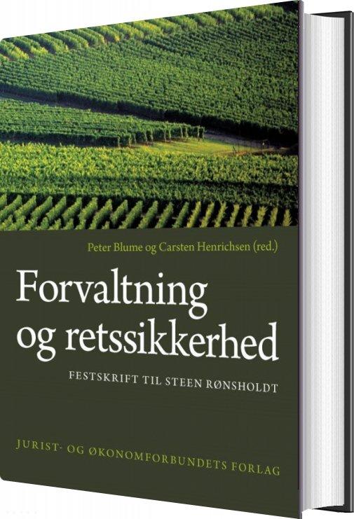 Image of   Forvaltning Og Retssikkerhed - Carsten Henrichsen - Bog