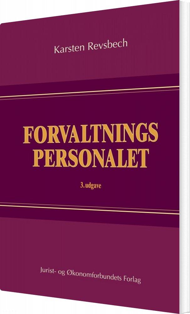 Image of   Forvaltningspersonalet - Karsten Revsbech - Bog