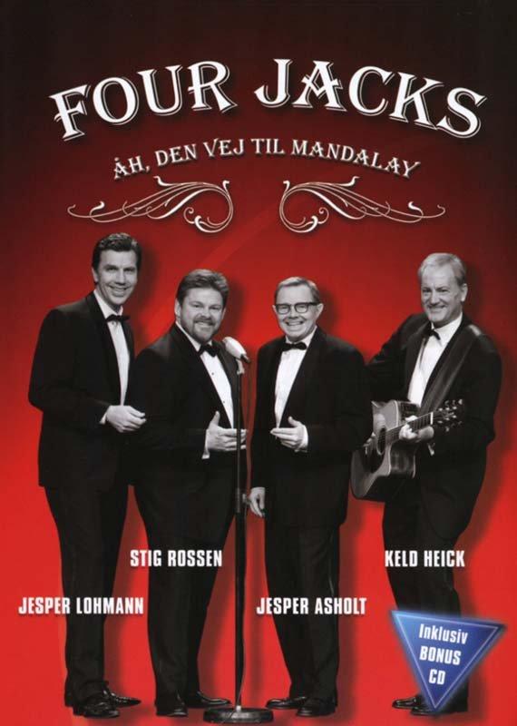 Four Jacks - åh Den Vej Til Mandalay - DVD - Film
