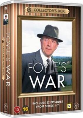 Billede af Foyles War Box Set 1-7 - 22 Episoder - DVD - Tv-serie