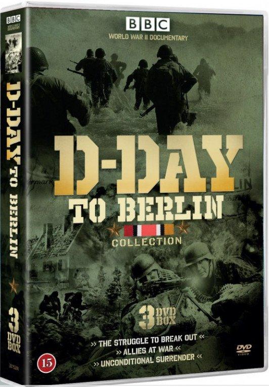 Image of   Fra D-dag Til Berlin - Bbc - DVD - Film