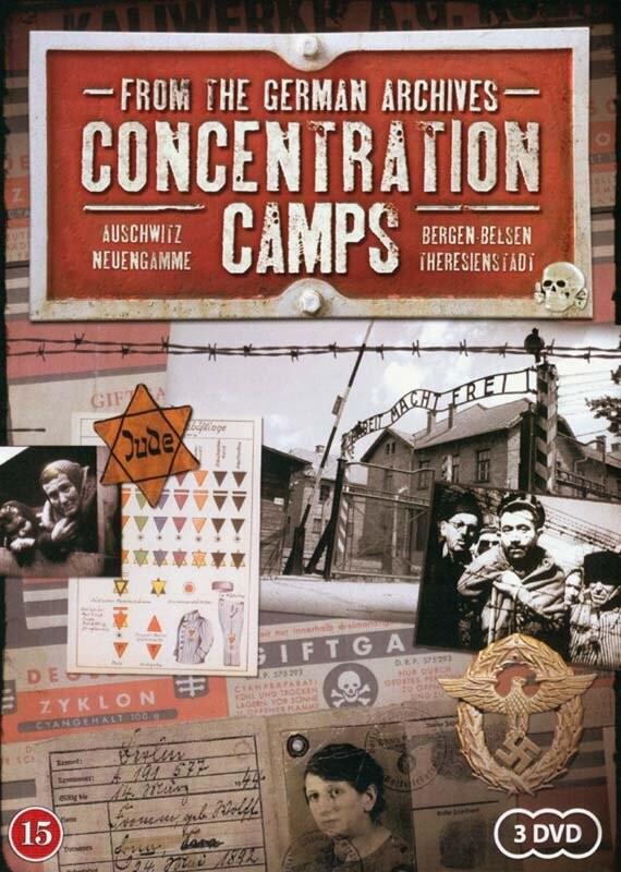 Billede af Fra De Tyske Filmarkiver - Koncentrationslejre - DVD - Film