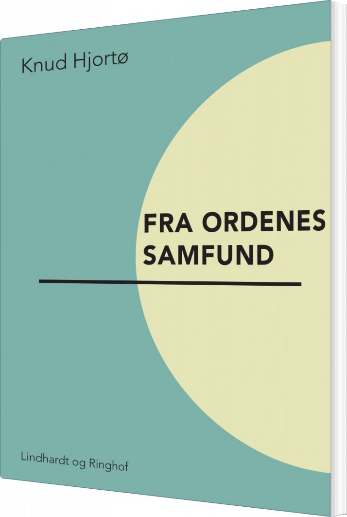 Billede af Fra Ordenes Samfund - Knud Hjortø - Bog