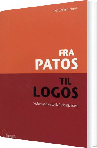 Image of   Fra Patos Til Logos - Leif Becker Jensen - Bog