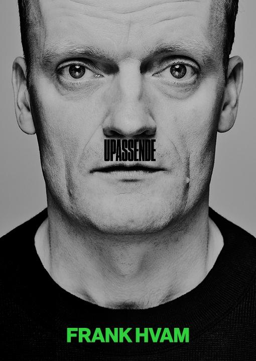 Image of   Frank Hvam - Upassende - DVD - Film