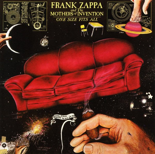 Frank Zappa & The Mothers Of Invention - One Size Fits All - Vinyl / LP