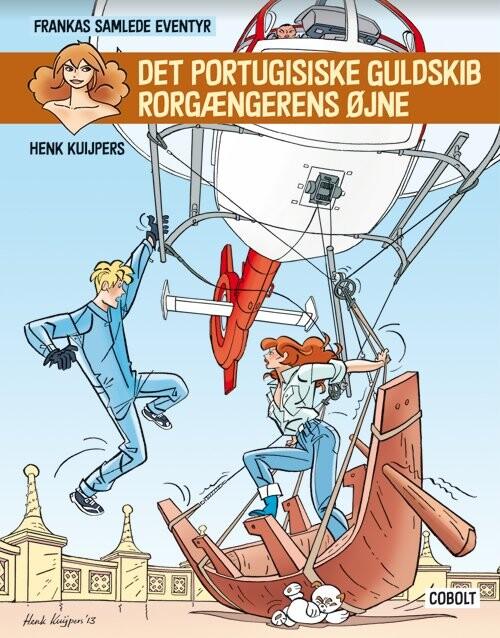 Frankas Samlede Eventyr - Henk Kuijpers - Tegneserie