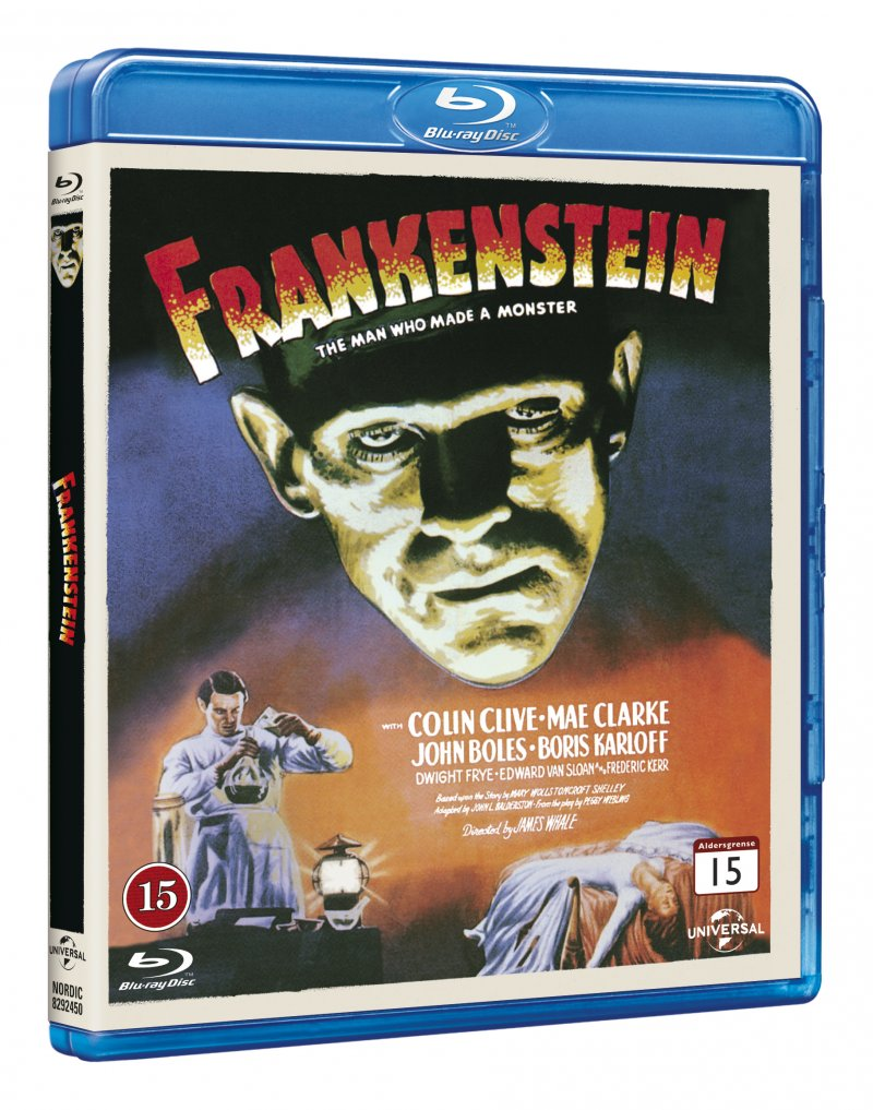 Image of   Frankenstein - Blu-Ray