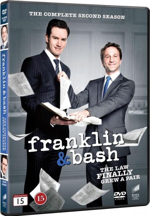 Billede af Franklin And Bash - Sæson 2 - DVD - Tv-serie