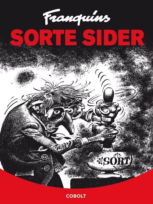 Image of   Franquins Sorte Sider - Franquin - Tegneserie