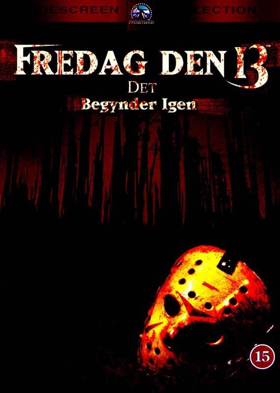 Image of   Fredag Den 13. - Del 5 - Det Begynder Igen - DVD - Film