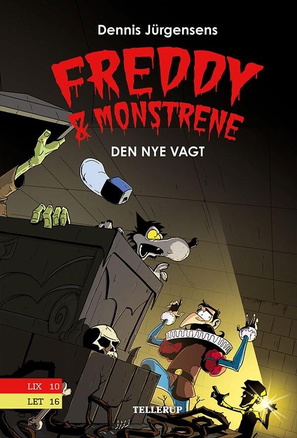 Image of   Freddy & Monstrene #5: Den Nye Vagt - Jesper W. Lindberg - Bog