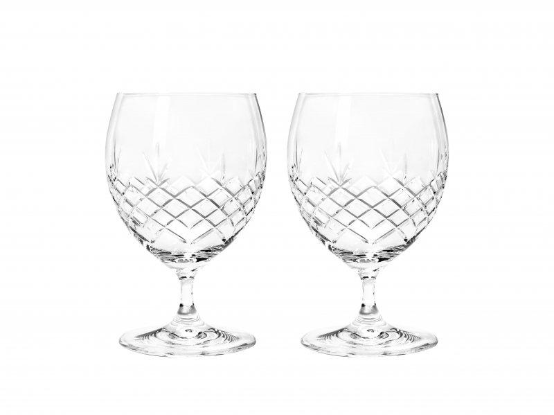 Image of   Frederik Bagger Glas - Crispy Eightball Krystal Glas - 2 Pak