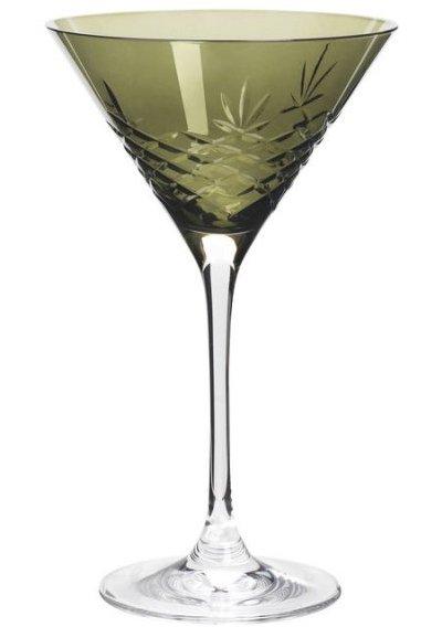Image of   Frederik Bagger - Crispy Emerald Cocktail Krystal Glas - 2 Pak