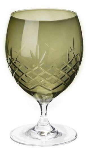 Image of   Frederik Bagger - Crispy Emerald Eightball Krystal Glas - 2 Pak