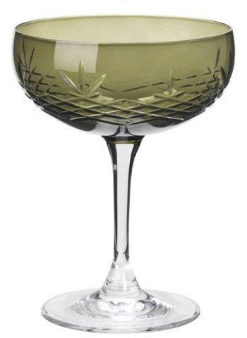 Image of   Frederik Bagger - Crispy Emerald Gatsby Glas - 2 Pak
