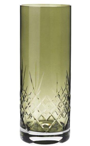 Image of   Frederik Bagger - Crispy Emerald Love 2 Krystal Vase