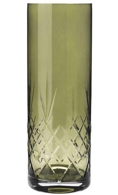 Image of   Frederik Bagger - Crispy Emerald Love 3 Krystal Vase