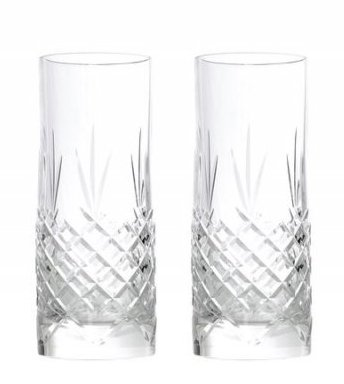 Image of   Frederik Bagger - Crispy Highball Krystal Glas - 2 Pak