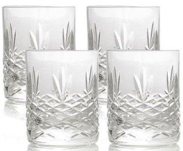 Image of   Frederik Bagger - Crispy Mini Lowball Krystal Glas - 4 Pak