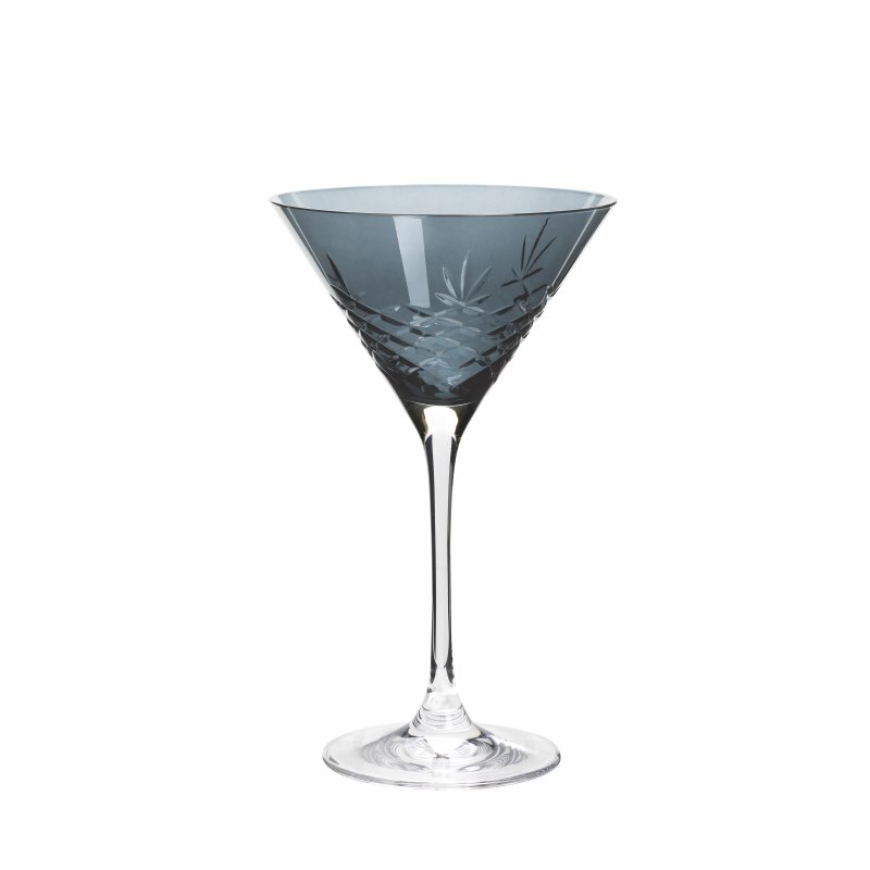 Image of   Frederik Bagger - Crispy Sapphire Cocktail Krystal Glas - 2 Pak