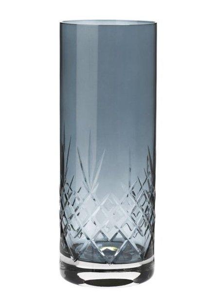 Image of   Frederik Bagger - Crispy Sapphire Love 2 Krystal Vase