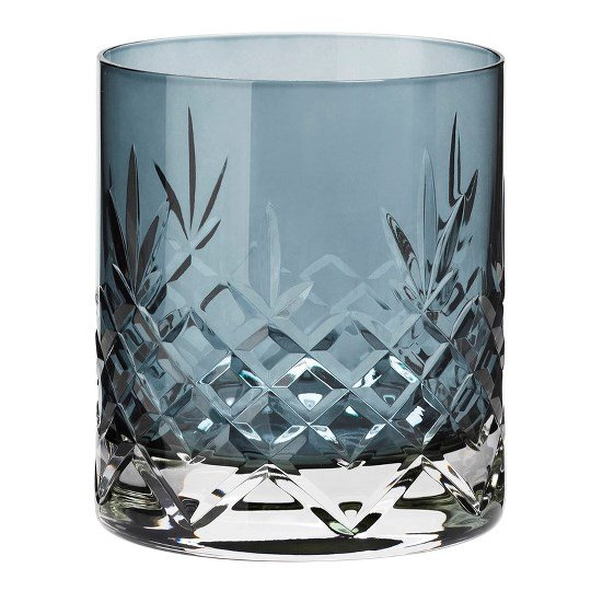 Image of   Frederik Bagger - Crispy Sapphire Lowball Krystal Glas - 2 Pak